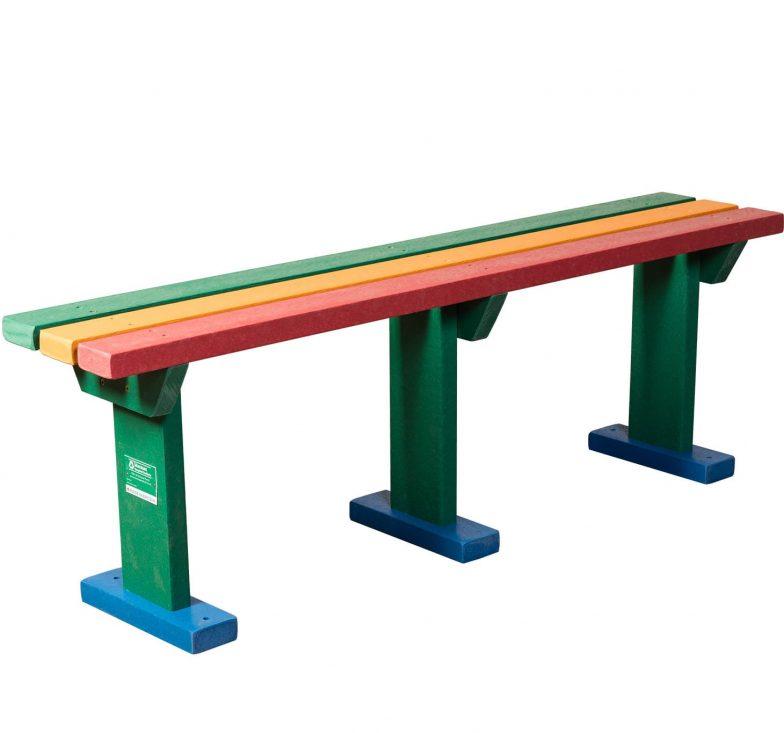 Rainbow sturdy bench