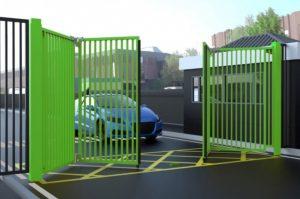 bi-fold gate