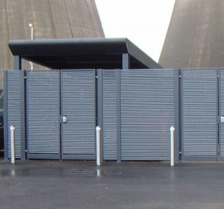 bin store plant enclosure