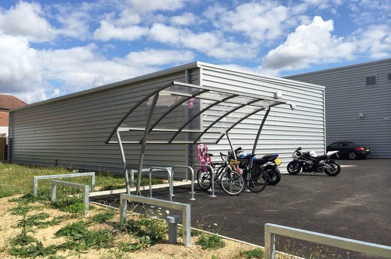 Bowland cycle shelter