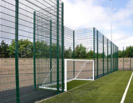Football field fencing