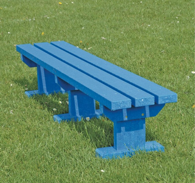 Blue junior sturdy bench