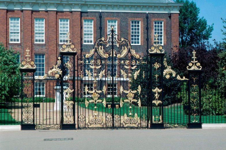 Kensington ornamental gates