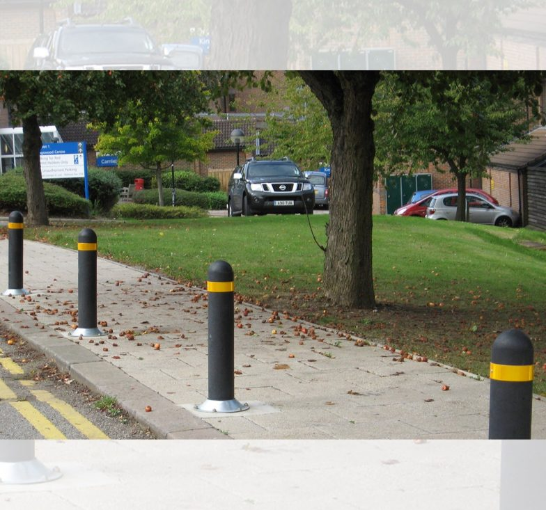 Konus rubber bollards