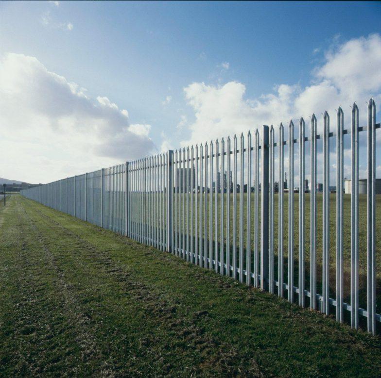 Palisade fencing