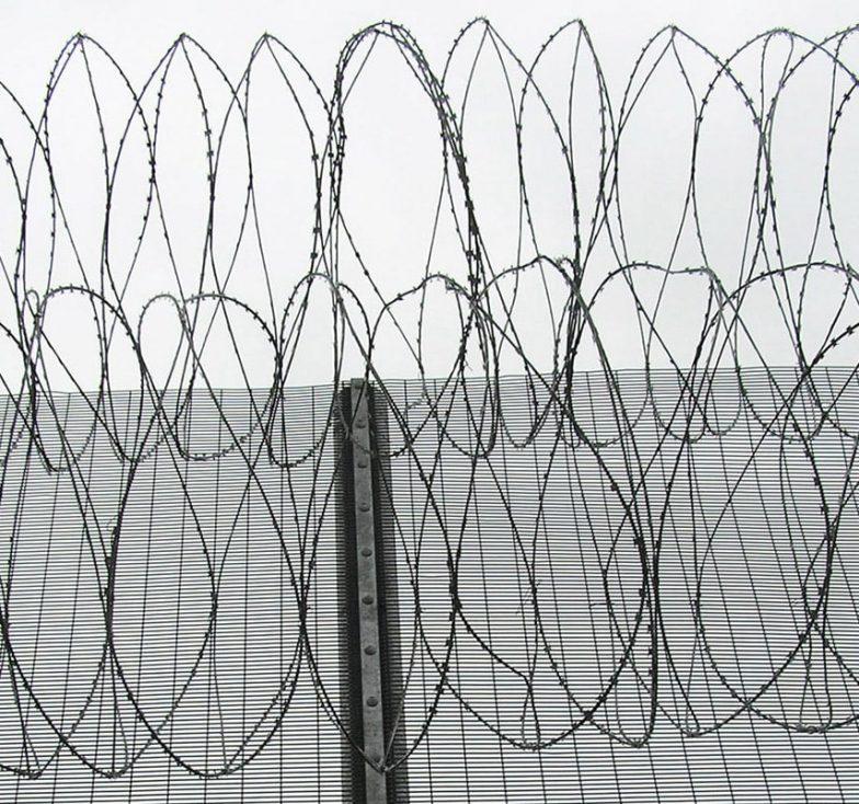 Razor wire coils