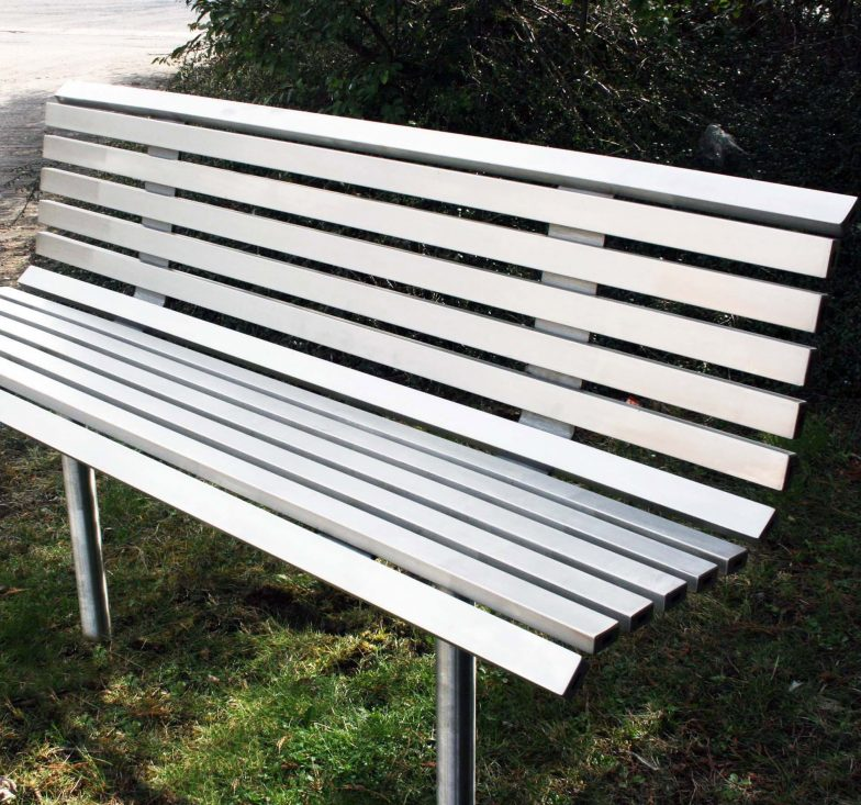 stainless steel seating