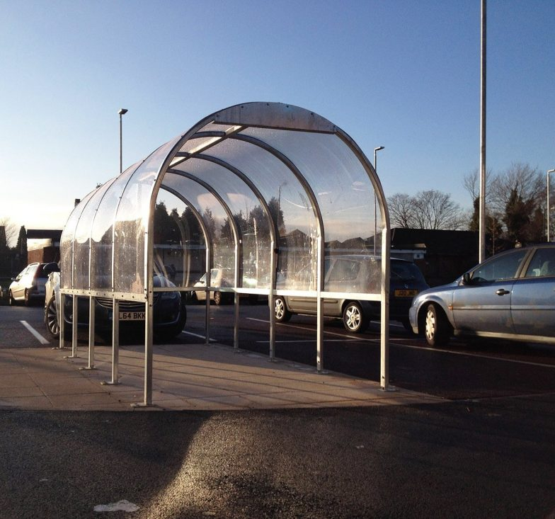 Trolley shelters