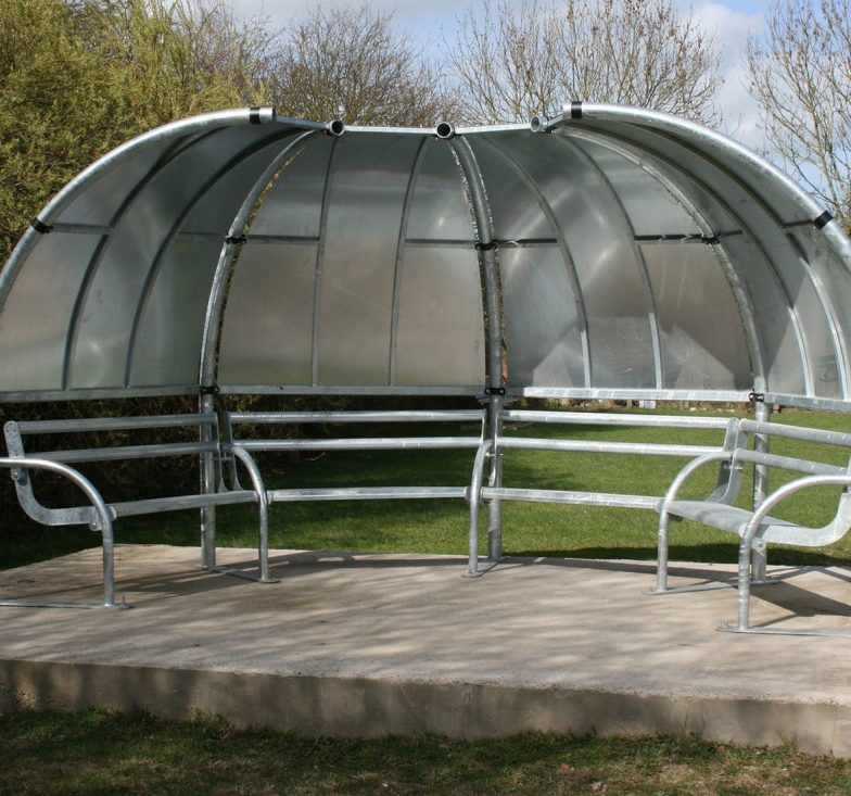 Wimbledon teenage seating shelter
