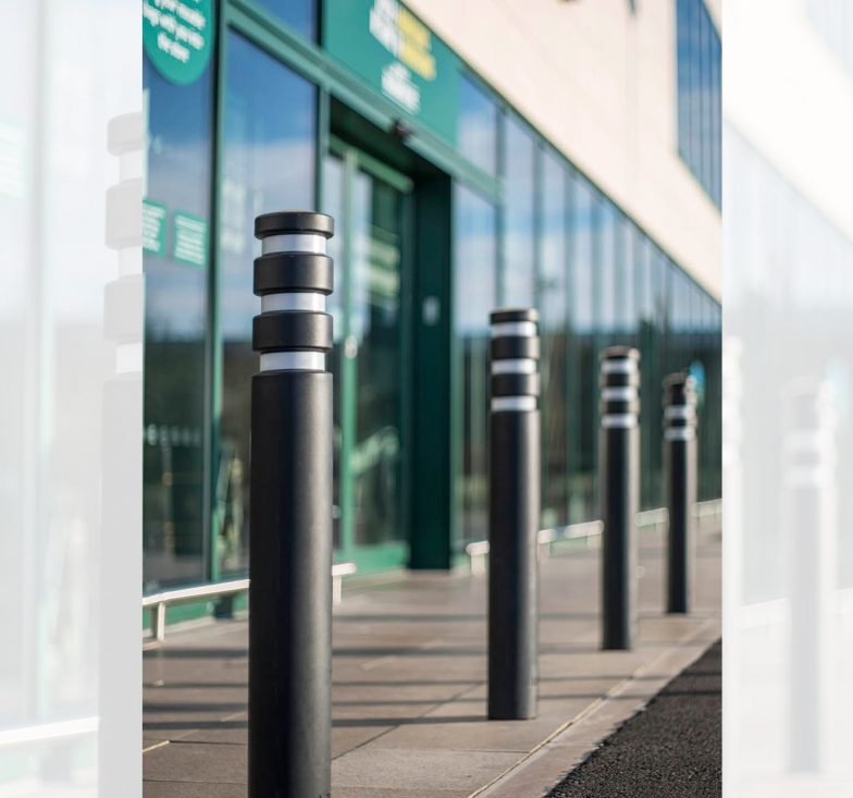 Anti ram bollards