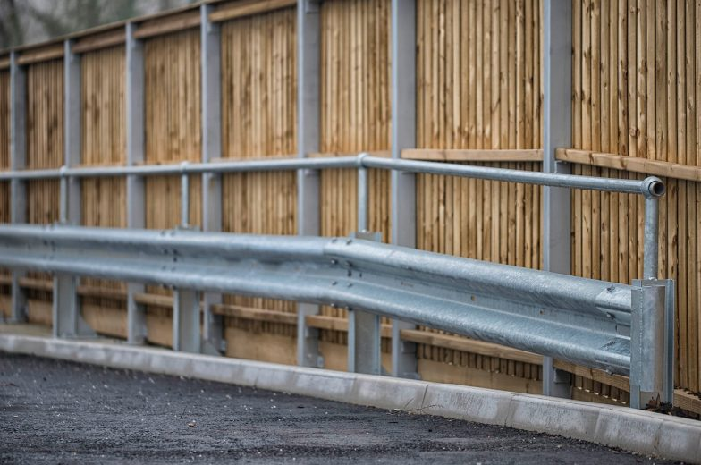 Armco barriers for B&Q