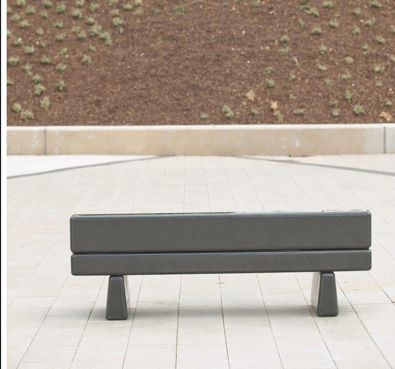 Bespoke outdoor bench