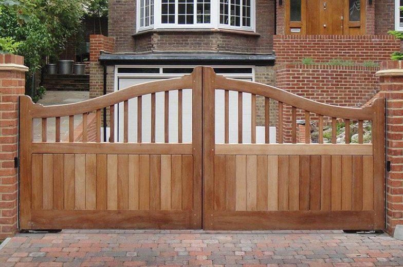hardwood gates