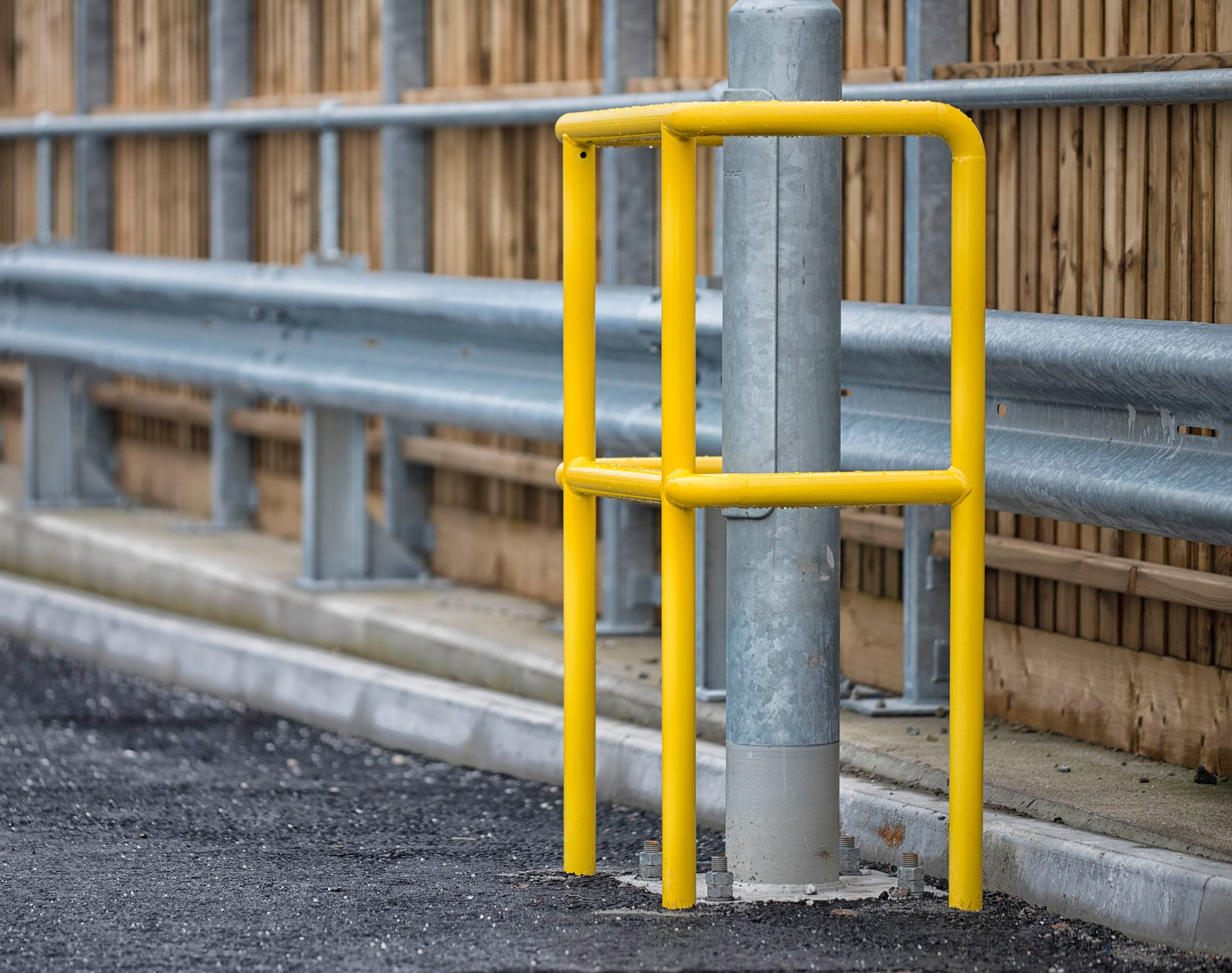 Lamp Post Protector Procter Contracts