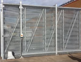 telescopic gate