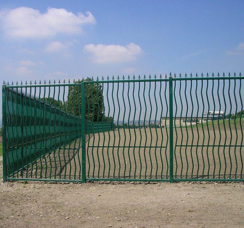 Wavey railings