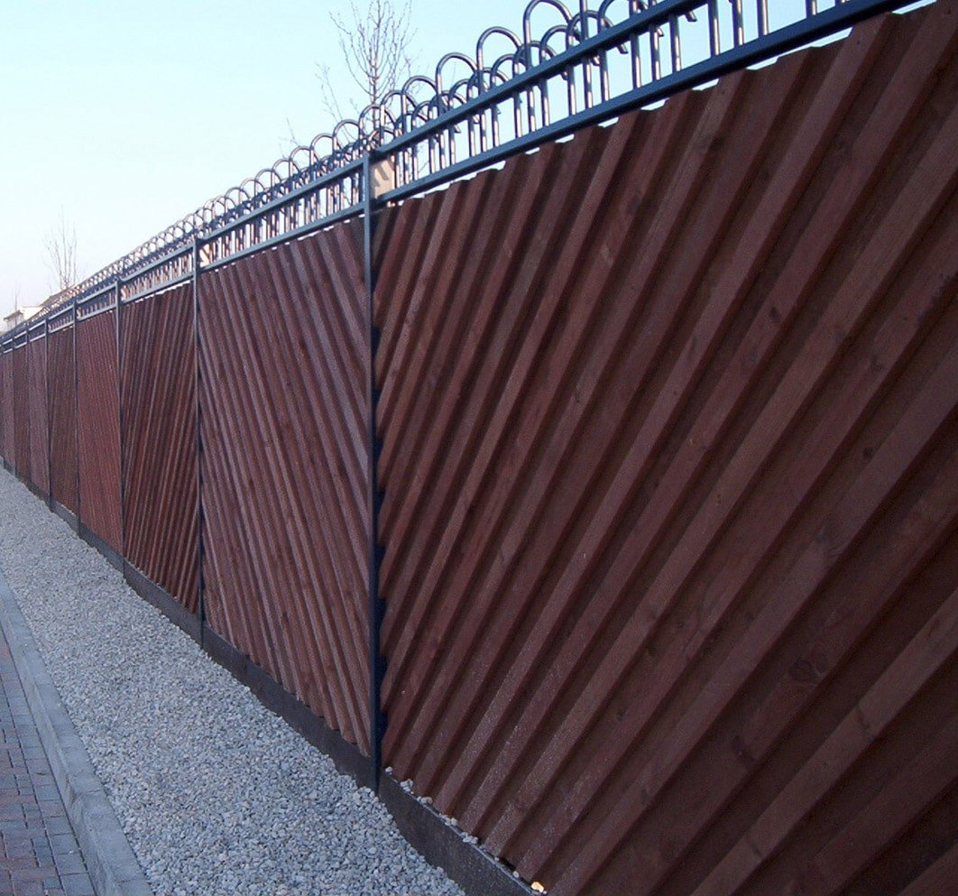 Timber acoustic fencing | Acoustic Barriers | Procter Contracts