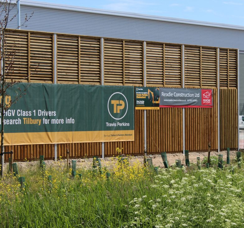 close-board fence