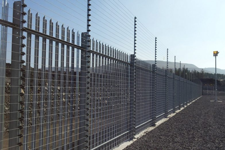 monitored pulse fence
