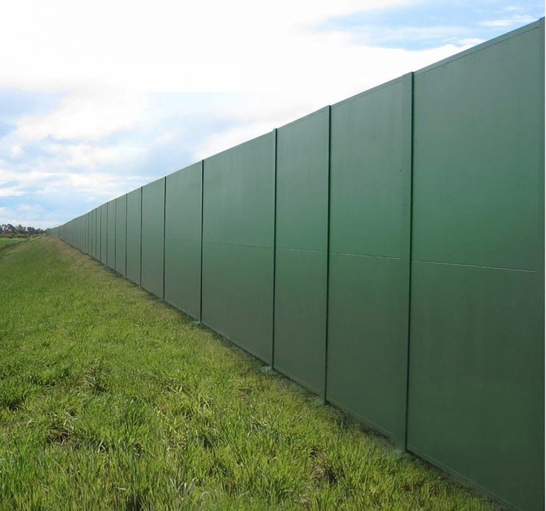 Acoustic modular wall system