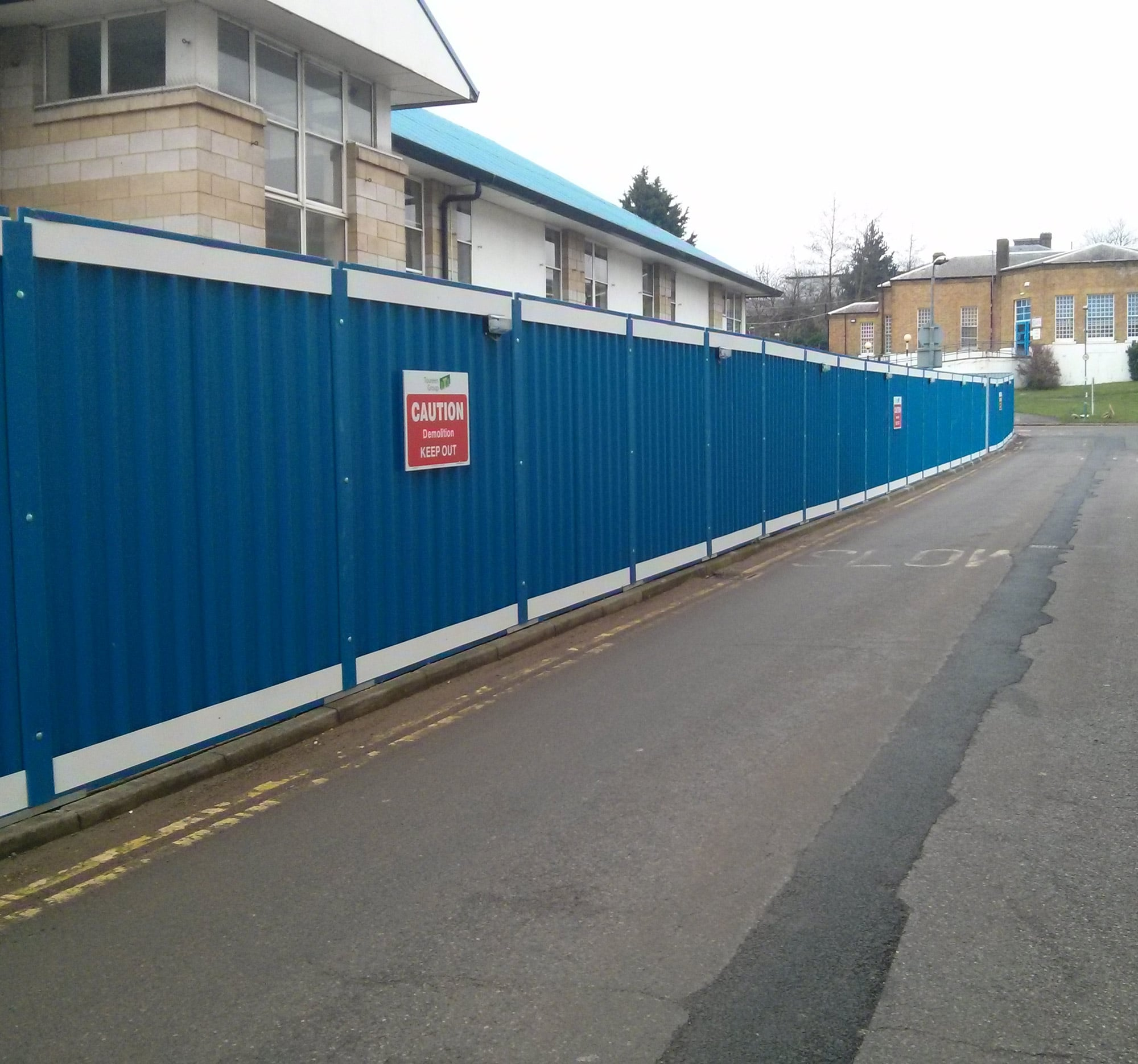 Steel Hoardings Procter Contracts