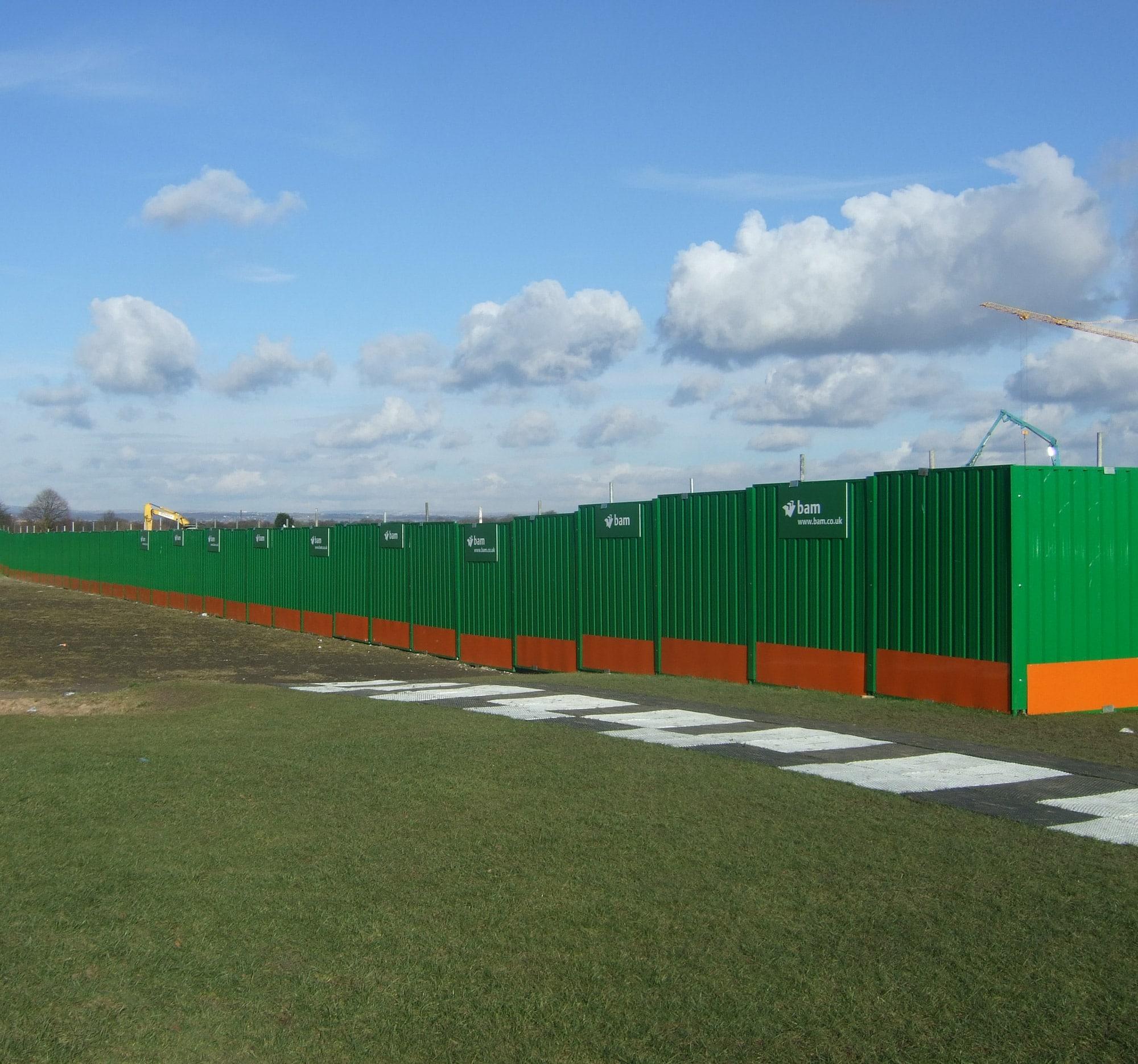 Steel Hoardings Procter Contracts