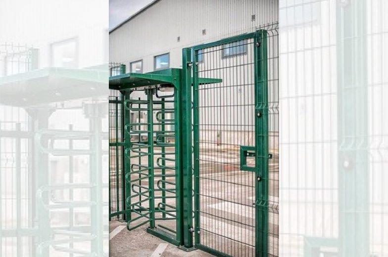 welded mesh gate