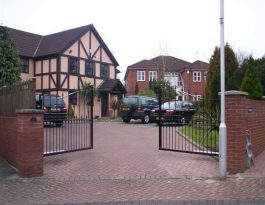 Bespoke ornamental gates