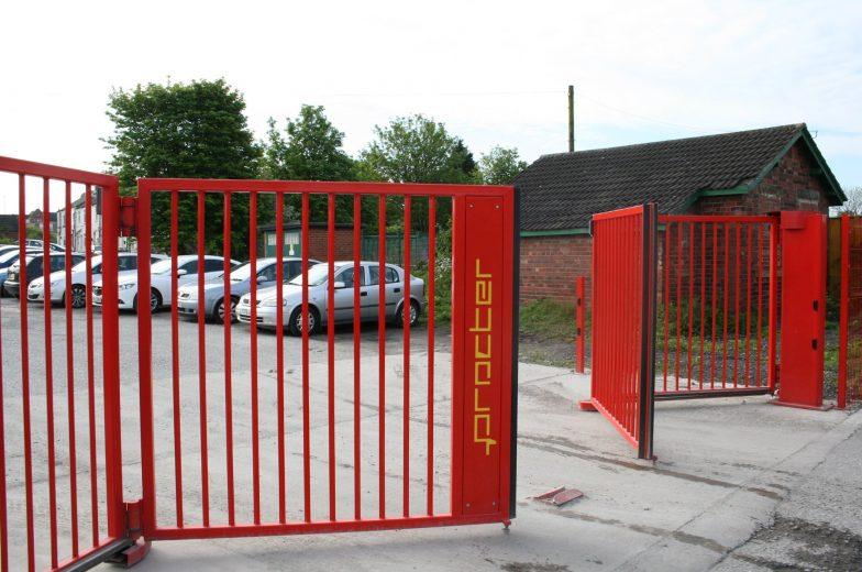 Procter branded gates