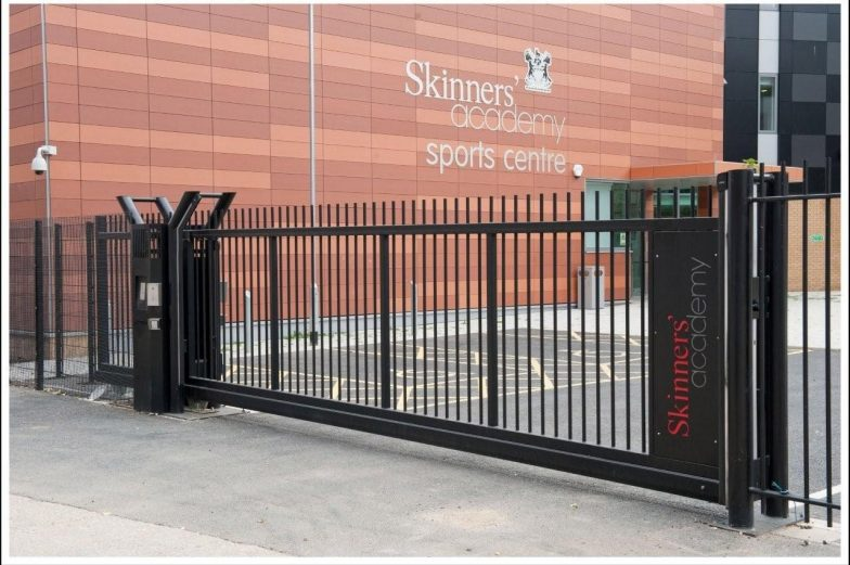 cantilevered gate