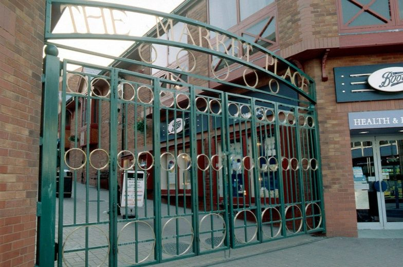 Branded gates for market place