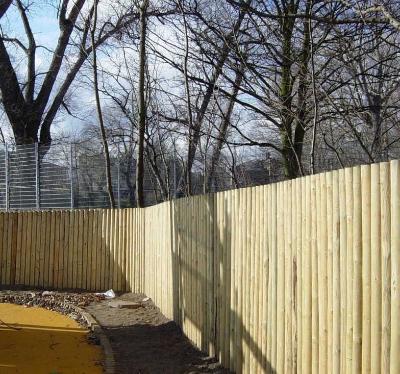 Timber log walls