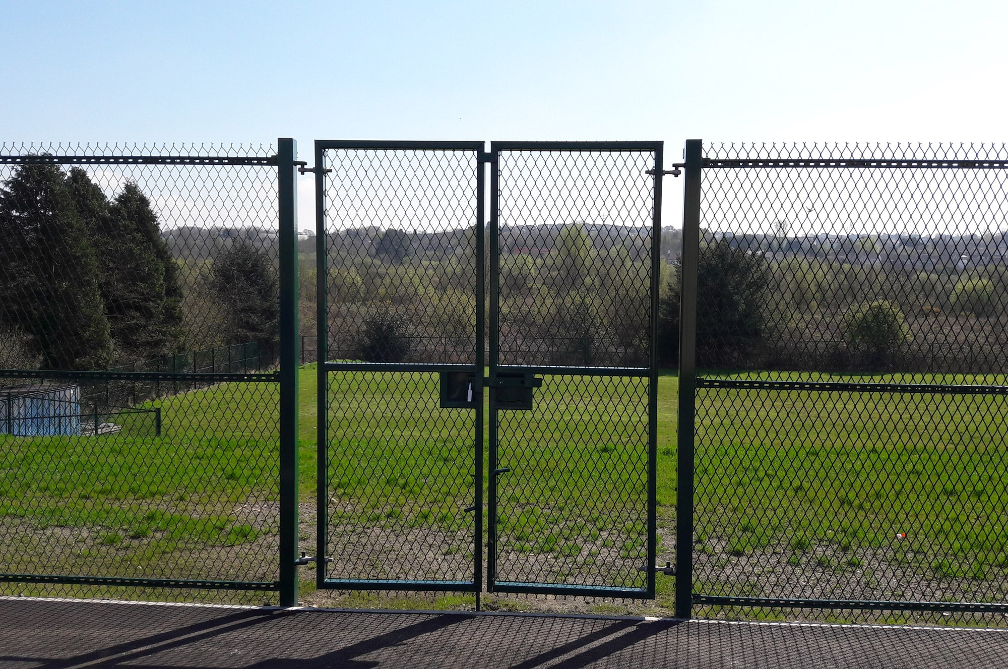 Welded Mesh Gates Sliding Amp Swig Gates Procter Contracts