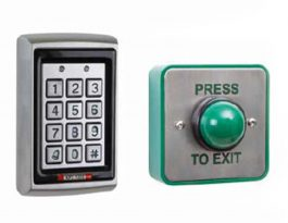 Keypad and button