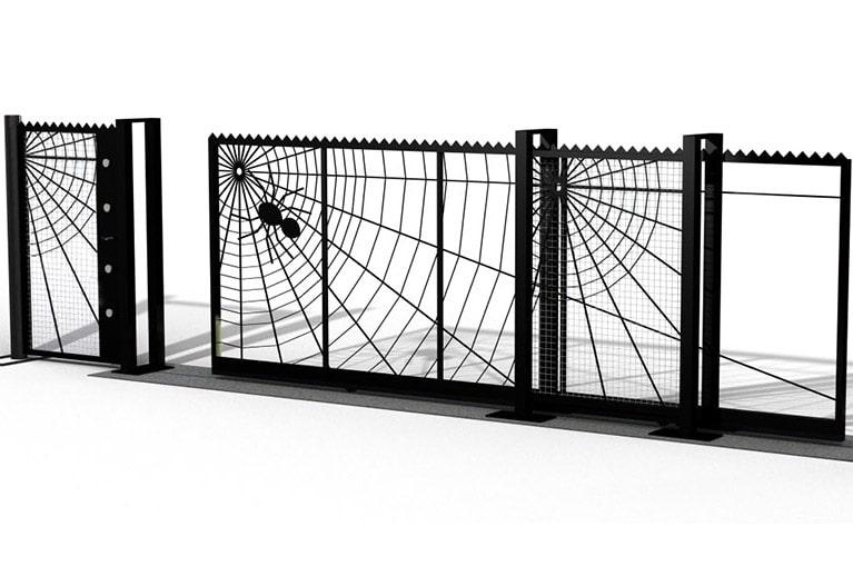 Pro-glide30 bespoke cantilever gates