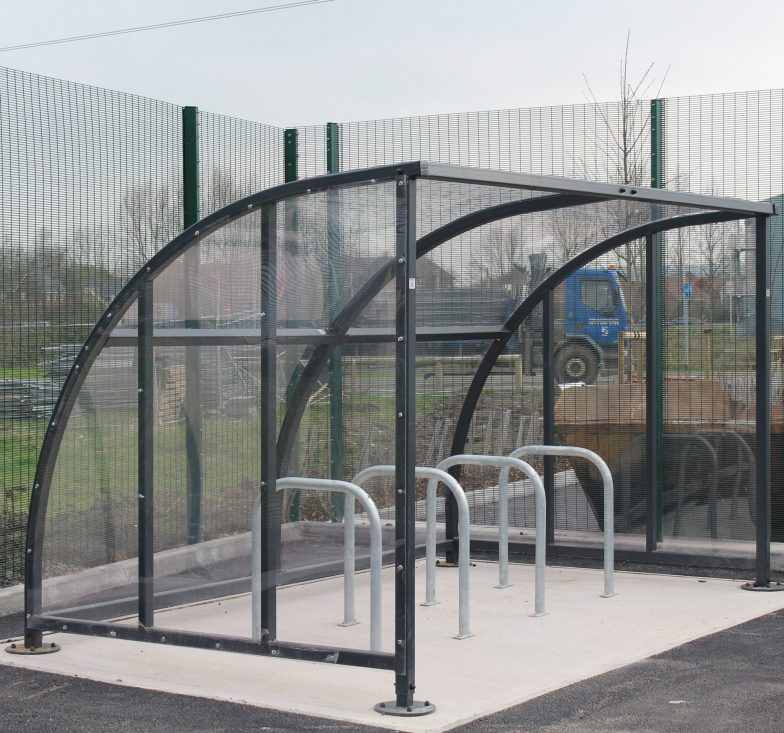 police station bicycle shelter