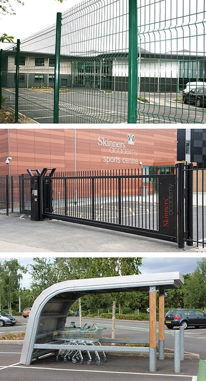 Procter Contracts' new office provides a one-stop-shop for the supply and installation of fencing, automatic gates and street furniture for clients in the South West.