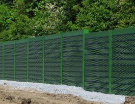 Pro-acoustic fence