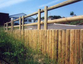 Log walling