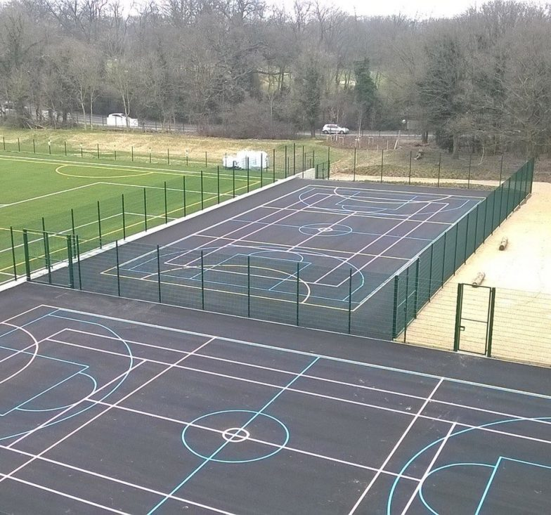 Pro-twin MUGA fence panel