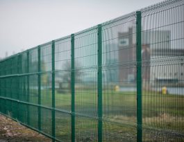 Pro-mesh panel fence